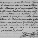 1916 Baptism of Dominga Marroquin Gonzalez in Mier, Tamaulipas Mexico