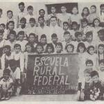 1949 School Picture in La Palmita, Nuevo Leon, Mexico