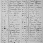 1900 Birth Index of Los Aldamas, Nuevo Leon, Mexico