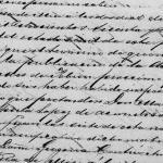 Civil Registry Marriage of Martin Garza Garcia and Ruperta Lopez Garza, 1862 Mier, Tamaulipas, Mexico