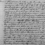1891 Civil Registration of Birth of Paula Lopez Garza, Arcabuz, Tamaulipas, Mexico