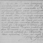 1900 Baptism of Maria Trevino Trevino, Mier, Tamaulipas, Mexico