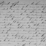 Rafaela Trevino Hinojosa, 1876 Birth Record in Ciudad Mier, Tamaulipas, Mexico