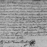 Manuel Angel Rios and Manuela Rodriguez's 1779 Marriage in San Mateo, Montemorelos, Nuevo Leon, Mexico