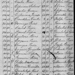 1916 Birth Index of Los Aldamas, Nuevo Leon, Mexico