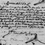 Maria Gertrudis Vela de La Garza 1789 Death Mier Tamauliaps Mexico