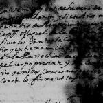 Gertrudis de Renteria Church Death Record 1687 Monterrey, Nuevo Leon. Mexico