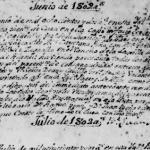 Jose Carlos Valentin de La Garza Pena and Maria Gertrudis Pena Alanis, 1802 Marriage in San Gregorio Magno, Cerralvo, Mexico