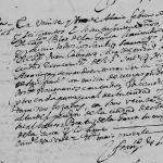 Blas de la Garza, 1669 Church Death Record, Monterrey, Nuevo Leon, Mexico