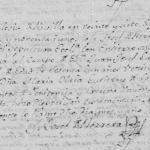 Death Record of Juan Joseph de Castro, 1791 in Revilla, Ciudad Guerrero, Tamaulipas, Mexico