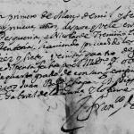 Nicolas de Trevino and Maria Garcia de Sepulveda (aka Maria de Renteria), 1669 Church Marriage in Pesqueria, Nuevo Leon, Mexico