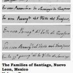 The Families of Santiago, Nuevo Leon, Mexico Volume Four