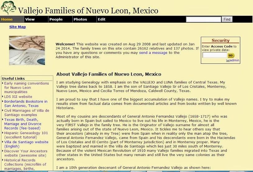 "Families of ""El Valle del Guajuco"", Nuevo Leon, Mexico"