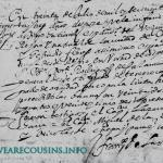 1673 Marriage of Diego Gutierrez and Gertrudis Flores Monterrey, Nuevo Leon, Mexico