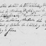 1684 Baptism of Jose Cristobal Garcia in Monterrey, Nuevo Leon, Mexico