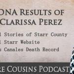 WAC-19: DNA Results for Clarissa Perez