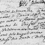 1624 Marriage of Antonio Guerra Canamal and Luisa Hernandez de Rio Frio in Mexico City, Mexico D.F., Mexico
