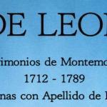 Matrimonios de Montemorelos Nuevo Leon 1712-1789 by Juan Jesus de Leon Arroyo