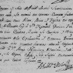 1759 Death Record of  Jose Cristobal Guerra Canamar in Monterrey, Nuevo Leon, Mexico