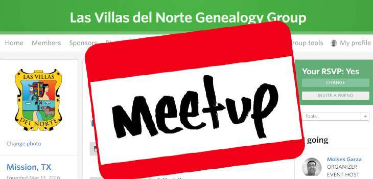 Las Villas del Norte is Now on Meetup