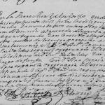 1730 Marriage of Juan Valdez Abrego and Ana Maria Sendeja Llanas in Saltillo, Coahuila, Mexico