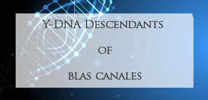 Blas Canales DNA Project