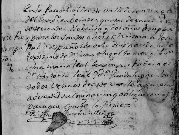 baptism-of-jose-pablo-tamez-familysearch-santiago-n-l-1792-pg-383
