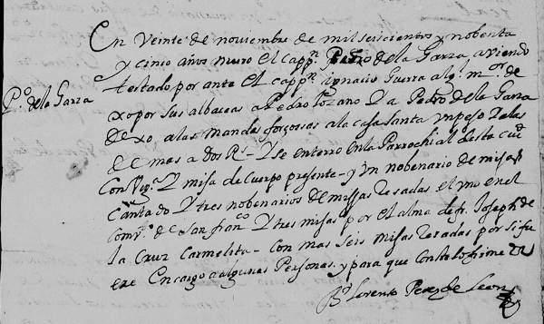 pedro-de-la-garza-death-record-1695-pg-58-monterrey-familysearch