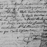 1695 Marriage of Antonio Guerra and Antonia de la Garza Treviño