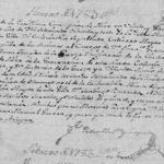 The 1783 Death Record of Jose Francisco Antonio Guerra in Mier, Tamaulipas, Mexico