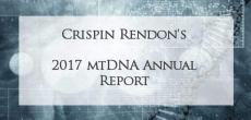 Crispin Rendon's 2017 MtDNA Annual Report