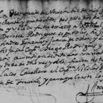 1684 Marriage of Cristobal Gonzalez and Dorotea Rodriguez