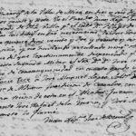 1827 Marriage of Jose Manuel Lopez and Maria Cecilia de la Garza in Mier, Tamaulipas, Mexico