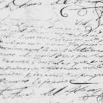 1816 Baptism of Maria Tomasa Gonzalez in Mier, Tamaulipas, Mexico