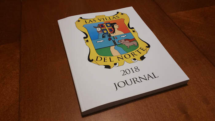 Cover of Las Villas del Nrote 2018 Journal