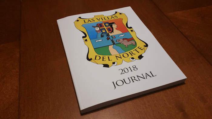 Cover of Las Villas del Nrote 2018 Journal