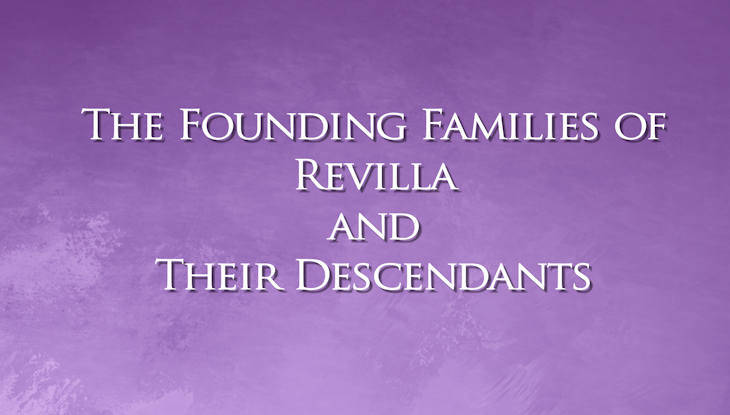 The Founding Families of Revilla and Their Descendants