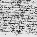 1775 Marriage of Juan Jose Sanchez Navarro and Maria Gertrudis Garcia