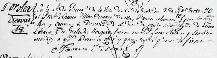 1850 Baptism of Maria Dorotea Lozano Bosques
