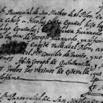 1732 Marriage of Nicolas Cantu and Maria Teresa Guajardo