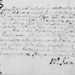 1799 Marriage of Jose Lorenzo Lopez and Maria Barbara Rios