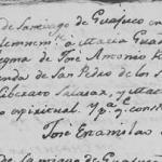 1813 Baptism of Maria Guadalupe Rodriguez Silva
