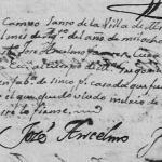 1836 Death of Maria Gregoria Isaguirre