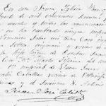 1860 Marriage of Fernando Zamora and Maria Marta Tijerina