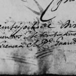 1670 Marriage of Bernabe Gonzalez and Josefa de Trevino