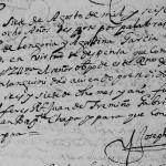 1678 Marriage of Pedro de Longoria and Agustina Garcia