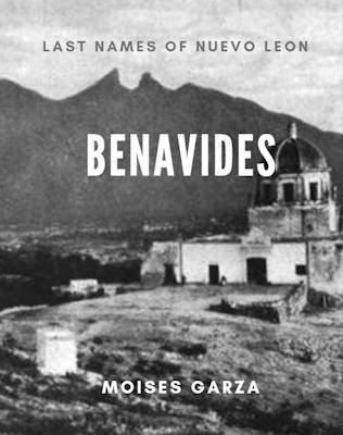Benavides Last Names of Nuevo Leon