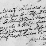 1720 Baptism Record of Blas Javier Alanis