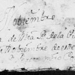 1767 Baptism Record of Maria Rafaela Hinojosa