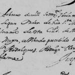 1720 Marriage of Joseph de Alanis and Maria Theresa Rodriguez de Montemayor